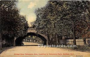 Bridge Over Delaware Avenue, Park Buffalo NY Unused