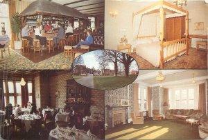 Postcard restaurant Hotel Sprowston Hall Norwich
