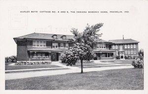 Indiana Franklin Boys' Cottage # 4 & 5 Indiana Masonic Home sk3542