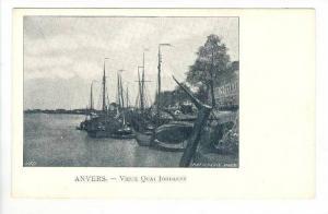 ANVERS.- Belgium, 1898-1905   Vieux Quai Jordaens