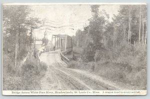 Meadowlands MN~White Face Bridge~Co Hwy 133~1909 Duluth Endres~Wolvin~Millward