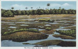 LA BREA, Trinidad, 1910-1920s; The Pitch Lake