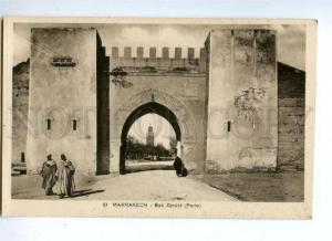 144660 Morocco MARRAKECH ABab Djedid (Porte) Vintage postcard