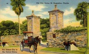 FL - St Augustine. Old City Gates