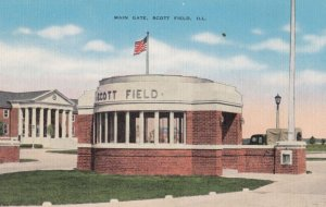 Scott Field , Illinois , 1940s ; Main Gate