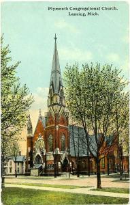 The Plymouth Congregational Church - Lansing MI, Michigan - DB