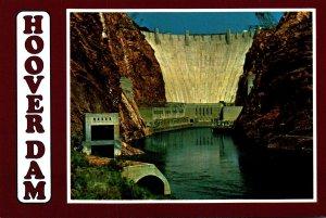 Nevada/Arizona Hoover Dam Spectacular View Taken Below The Dam