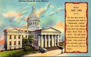 Missouri St Louis Old Court House 1948