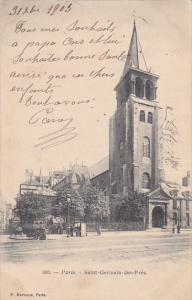 PARIS , France , PU-1903 ; Saint Germain des Pres