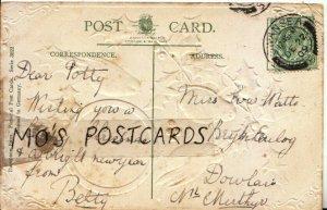Genealogy Postcard - Watts - Brynheulog - Dowlais - Near Merthyr - Ref 9563A