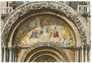 Italy, Venice, Venezia, Basilica S. Marco, Particolare, unused Postcard