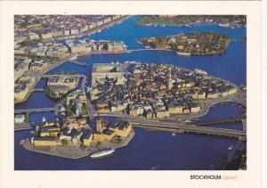 Sweden Stockholm Aerial View