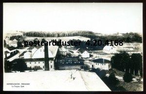 4168 - LA TRAPPE Quebec 1930s Dependances Premises. Real Photo Postcard