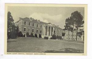 Moore County Hospital, Pinehurst, North Carolina, 1940