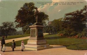 WEST YORKSHIRE, England, UK, 1900-10s;  Dewsbury Park Memorial Statue