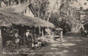 RP: BORALESGAMUWA, Rural Scene , COLOMBO , CEYLON , 00-10s