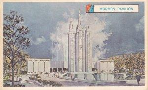 NEW YORK CITY, New York, 1960´s; The Mormon Pavilion