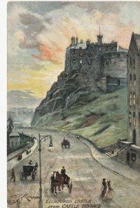 Old EDINBURGH , Scotland , 00-10s ; Castle ,TUCK #7640