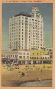 LONG BEACH , California, 1930-40s ; Hilton Hotel