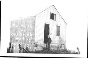 Pacific County Jail, Oysterville Washington Repro Postcard M11