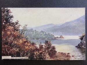 Ireland Co.Kerry KILLARNEY EMERALD ISLES & WINDING BAYS UB Tuck's Panoramic Card