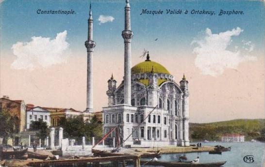 Turkey Constantinople Mosquee Valide a Ortakevy Bosphore