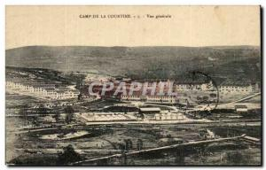 Old Postcard Camp of Courtine Army General view