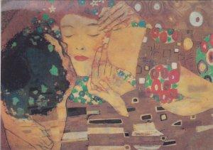 Artist G. Klimt - The Kiss , 3D , 2002