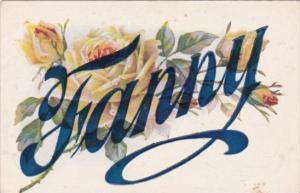 Name Card Fanny