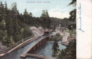 SWEDEN, 1900-1910's; Dalslands Canal