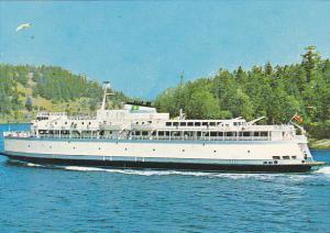 Canada Ferry M V Queen Of Victoria British Columbia