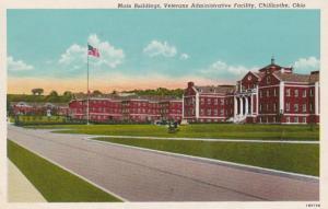 Ohio Chillicothe Main Buildings Veterans Administrative Facility Curteich