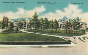 RICHMOND , Virginia , 1930-40s ; Virginia Union University