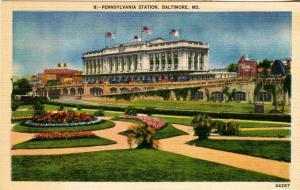 MD - Baltimore. Pennsylvania Station (Railroad)