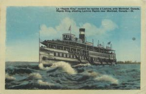 Montreal Canada Steamship Lines~Whitewater~Shooting Lachine Rapids King~1946
