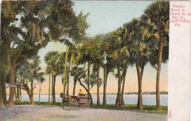 Halifax River North Beach Street At Bay Street Daytona Florida