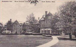 Massachusetts South Hadley Mount Holyoke College The Rockefeller Hall Albertype