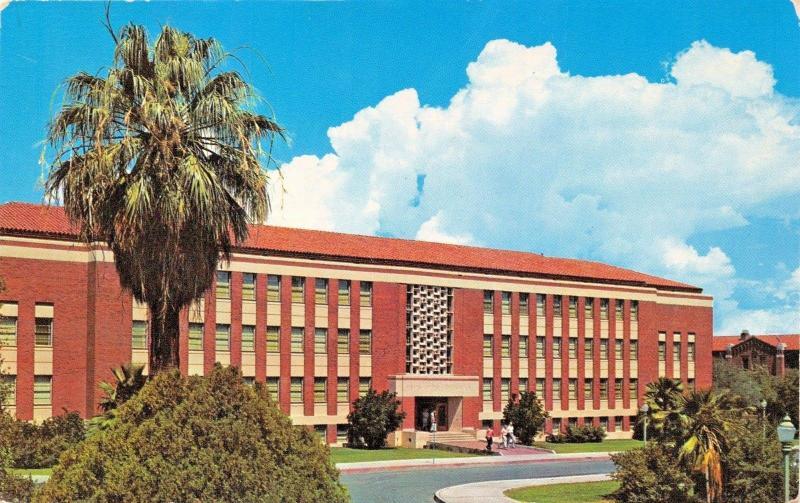 Tucson Az University Of Arizona College Business Public Admini Postcard