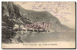 Old Postcard Nice in Monte Carlo Bay of Villefranche