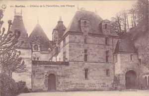Sarthe.-Chateau de la Marcelliere, pres Marcon , France , 00-10s