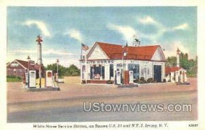 White House Service Station in Irving, New York