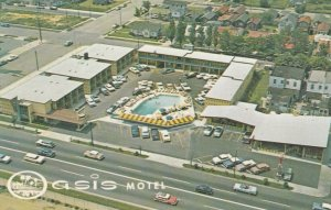 ATLANTIC CITY, New Jersey, 1950-60s; Oasis Motel