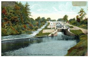 19009  NY Fort Edward  The Five Locks Canal