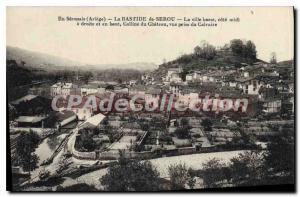 Old Postcard In S?ronais Ariege La Bastide de Serou