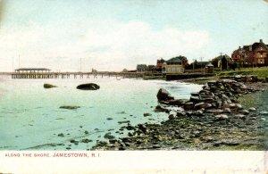 RI - Jamestown. Along the Shore