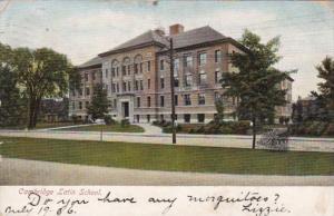 Massachusetts Cambridge Latin School 1906