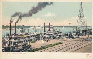 KANSAS CITY , Missouri , 1901-07 ; River View, Steamers