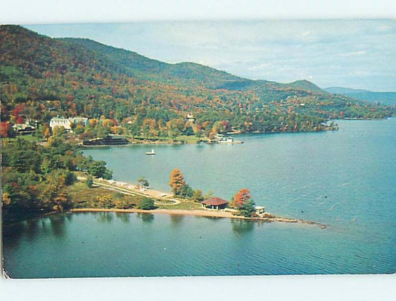 Pre-1980 WATER SCENE Cicero - Lake George New York NY hk2489