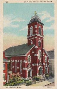 PARKERSBURG , West Virginia, 1910s ; St Francis Xavier Catholic Church