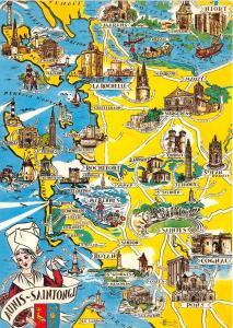 BR15761 Aunis Saintinge map cartes geographiques  france